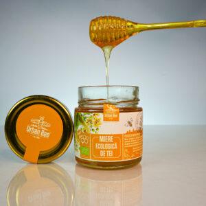 miere ecologică de tei